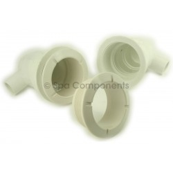 Poly Jet wall fitting (standard length)