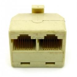 Control panel jack : 2 to 1