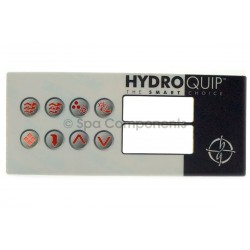 Hydroquip 8 button overlay