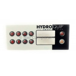 Hydroquip 10 button overlay