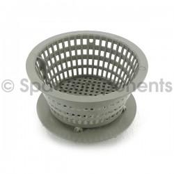 Dyna-Flo low profile basket assembly