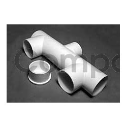 Skim filter manifold tee