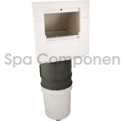 100sq ft Front Access Skim Filter Single Port