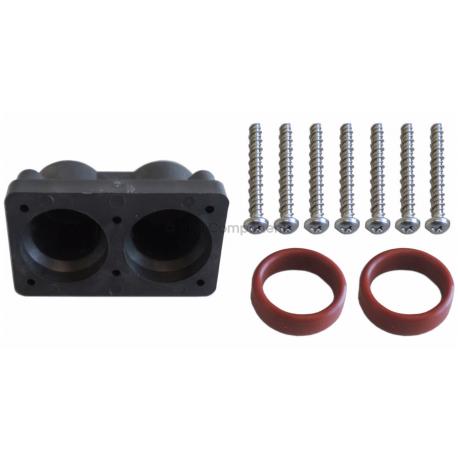 Watkins Hotsprings Double Barrel Heater Manifold Kit